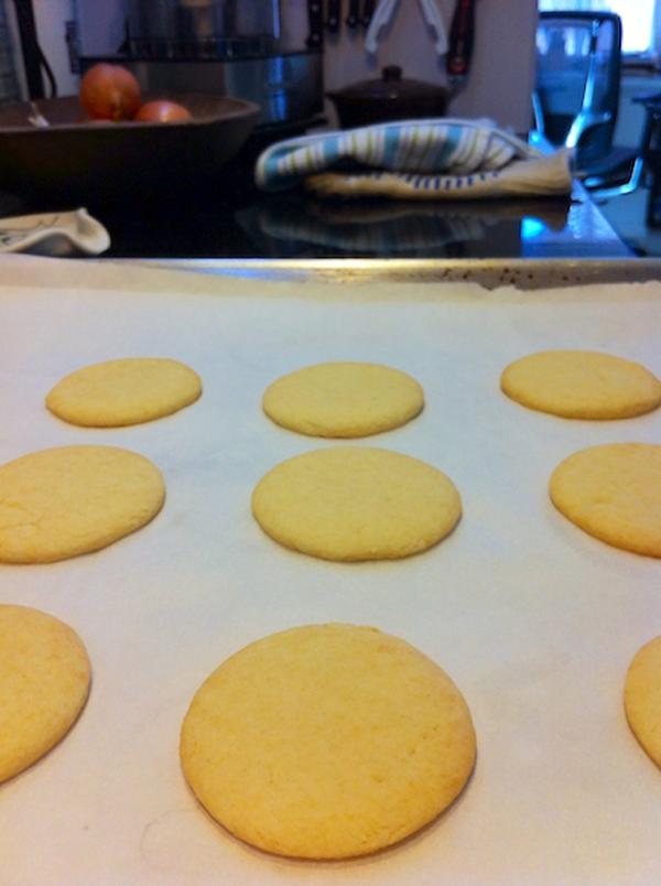 Step 3, Sugar Cookies Baking