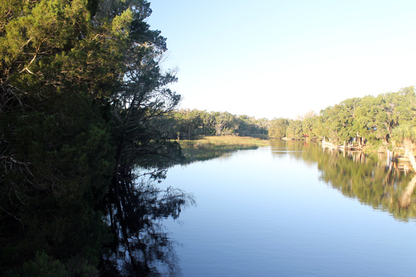 View from bridge.