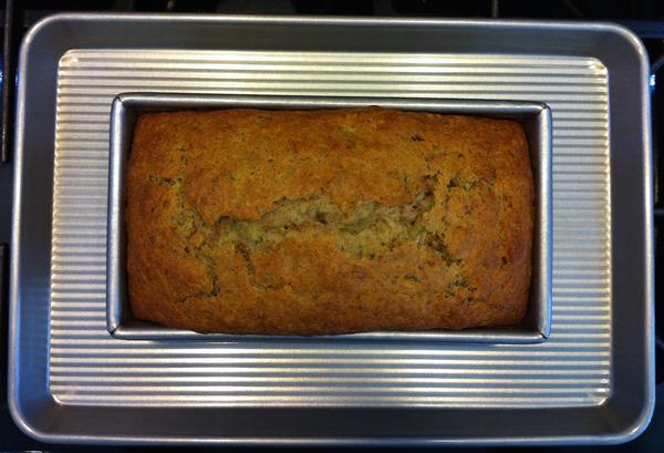 Step 5, Michelle's Yogurt-Zucchini Bread : Gluten-Free