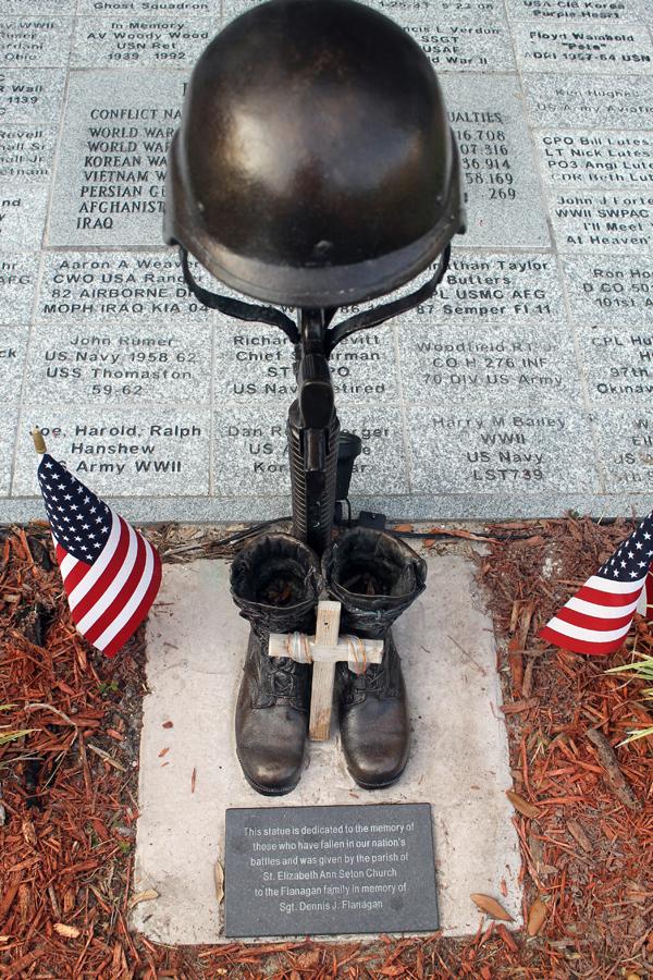 Veterans Memorial in Old Homosassa