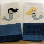 Mermaid Tea Towels