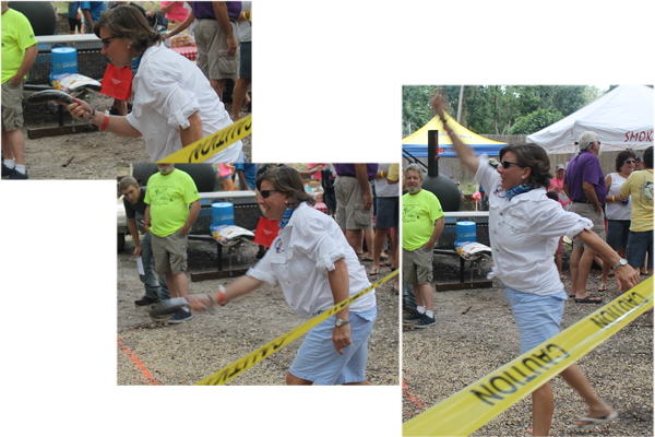 3rd Annual Mullet Toss
