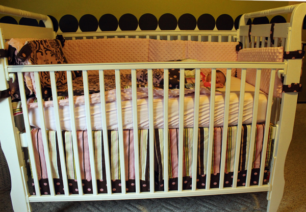 DIY Baby Bedding with Premier Prints from Fabric.com