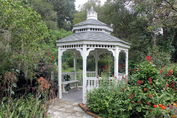 One of many gazebos