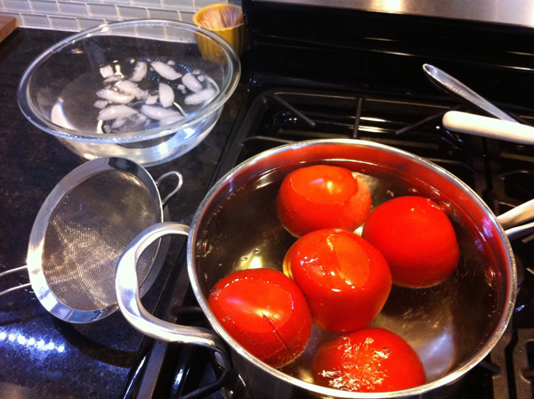 Spicy Pasta Sauce, STep 3