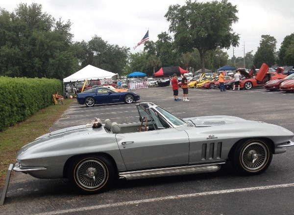 All Corvettes, Camaros and Cadillac XLRs Car Show at Crystal Chevrolet