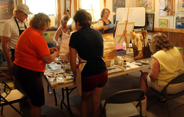 Oil Painting Workshop at Watson's Art Gallery