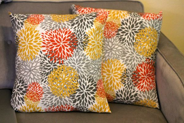 Easy Envelope Style Pillow Covers Awesome Envelope Style Pillow Cover