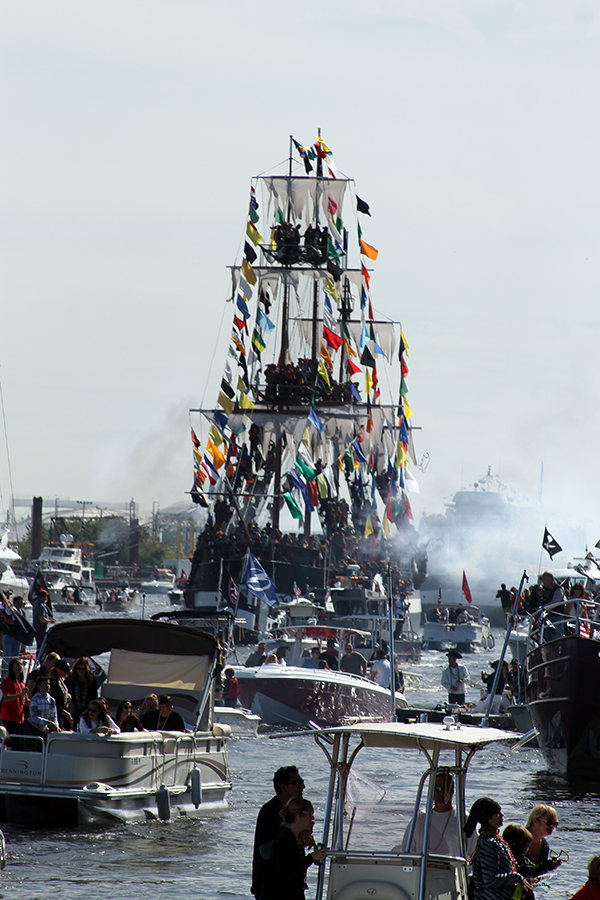 Gasparilla Pirate Invasion