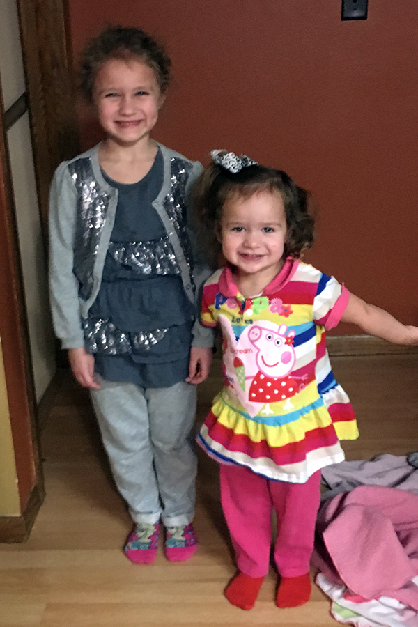 Piper and Adley