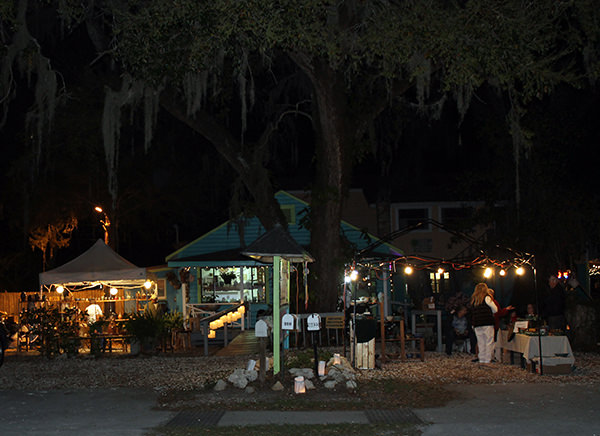 17th Luminary Art Walk of Old Homosassa