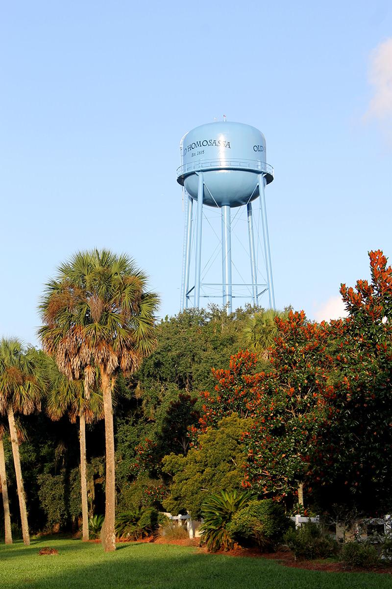 Old Homosassa Water Tower
