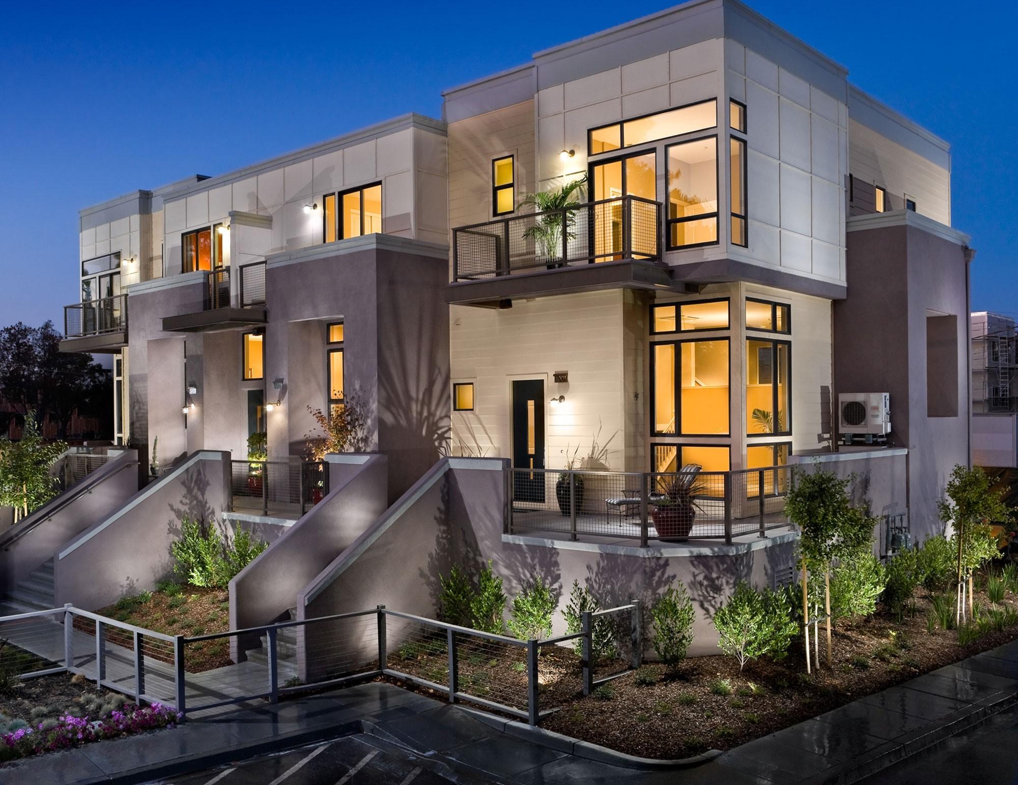 Eco Friendly Condos Palo Alto CA KTGY Architects