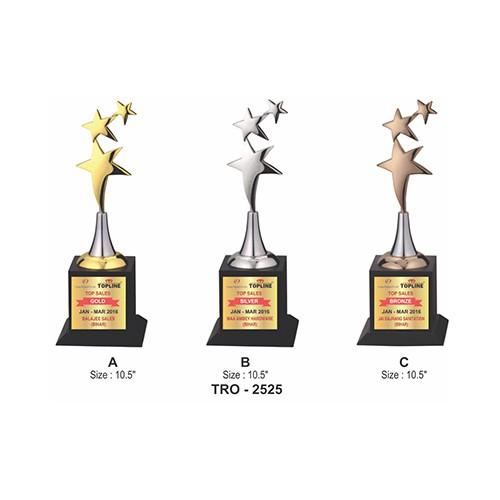 Wood Metal Trophy 2525