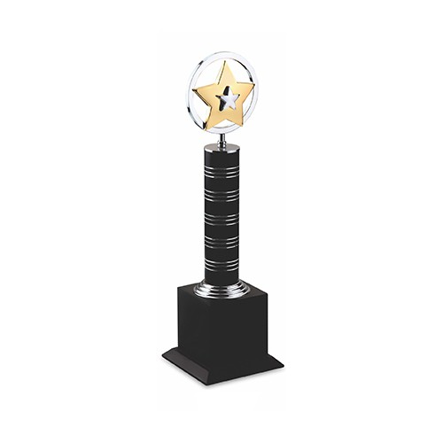 Wood Metal Trophy 2536