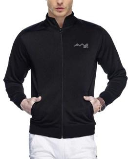AWG Black Premium Polyester Jacket
