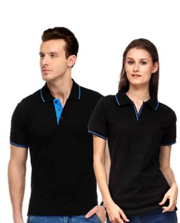 Scott-Polo-Neck-BLACK-WITH-BLUE-TIP