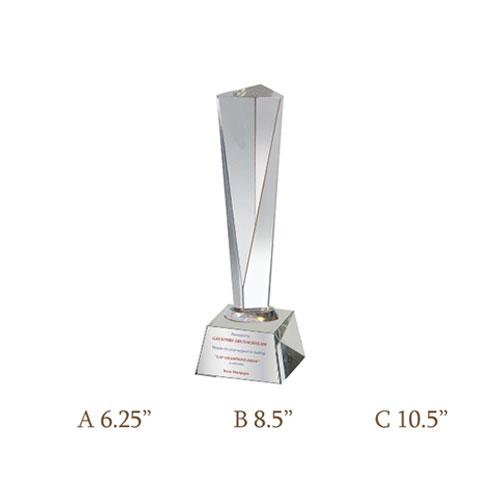 Crystal Trophy CG-134