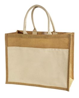 Jute-Tote-Bag-with-Canvas-Front-Pocket