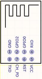 ESP01 pins