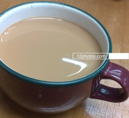 Hong Kong milk tea - made from three different kinds of tea leaves, it is a must-try