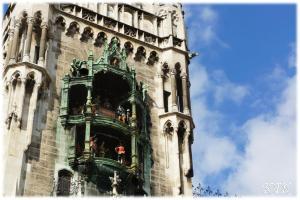ミュンヘン新市庁舎の仕掛け