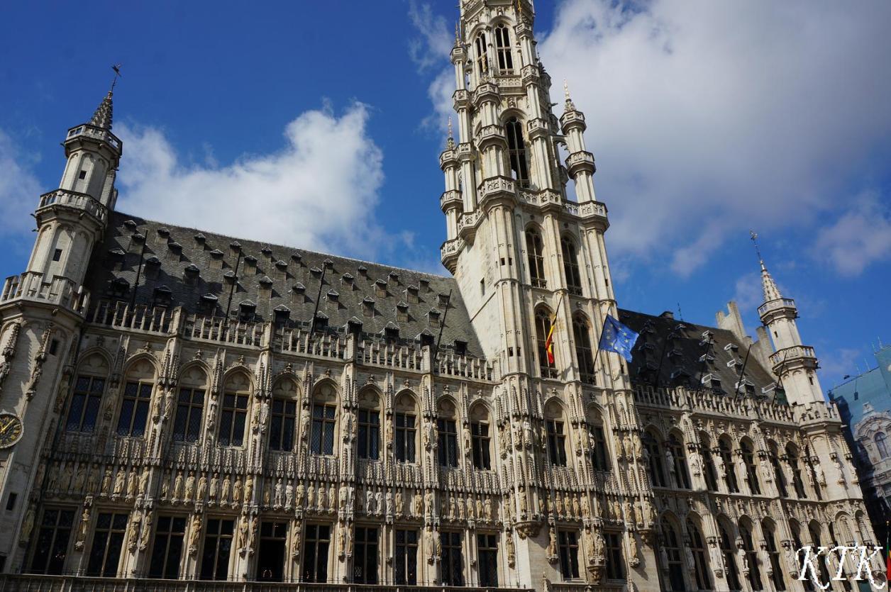 18ブリュッセル市庁舎ひる