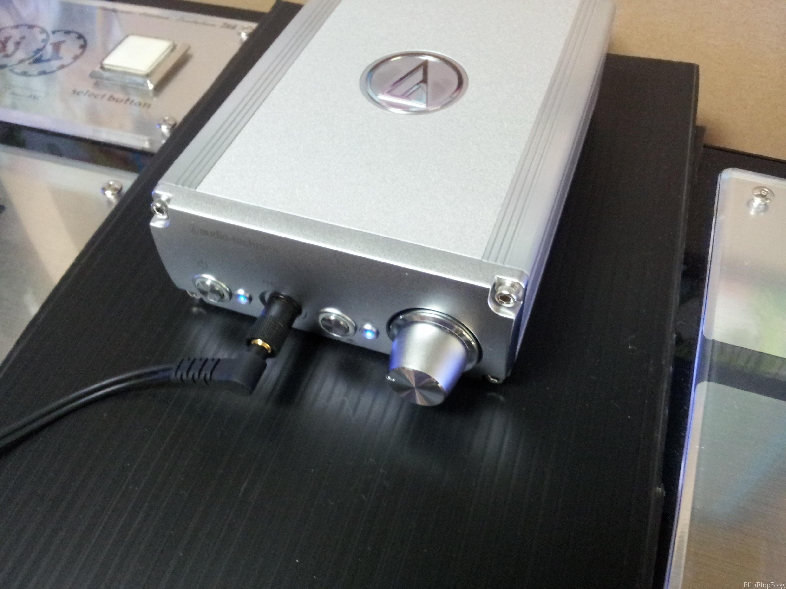 ヘッドホンアンプAT-HA26D 購入レビュー - FlipFlopBlog