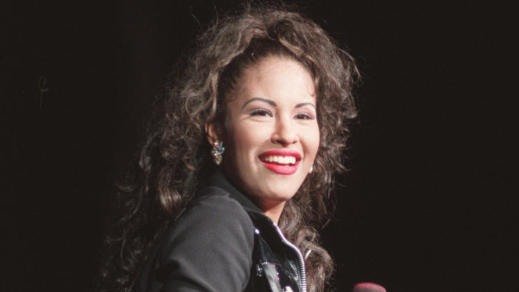 Selena Quintanilla is seen in an undated file photo. (Los Angeles Times)