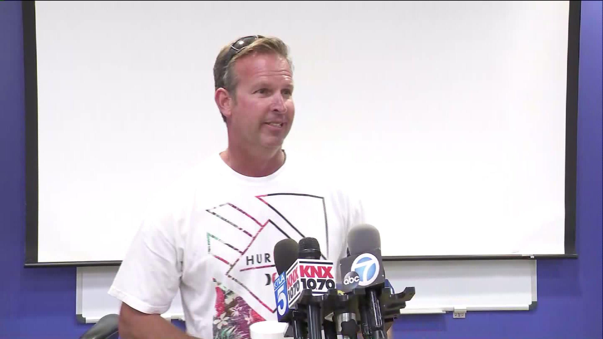 John Meffert is shown in an image from a press conference on June 30, 2017. (Credit: KTLA)
