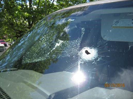 Authorities in Washington state are searching for an active shooter who fired multiple shots at motorists near Seattle-Tacoma's International Airport Wednesday afternoon. (Credit: Washington State Patrol)