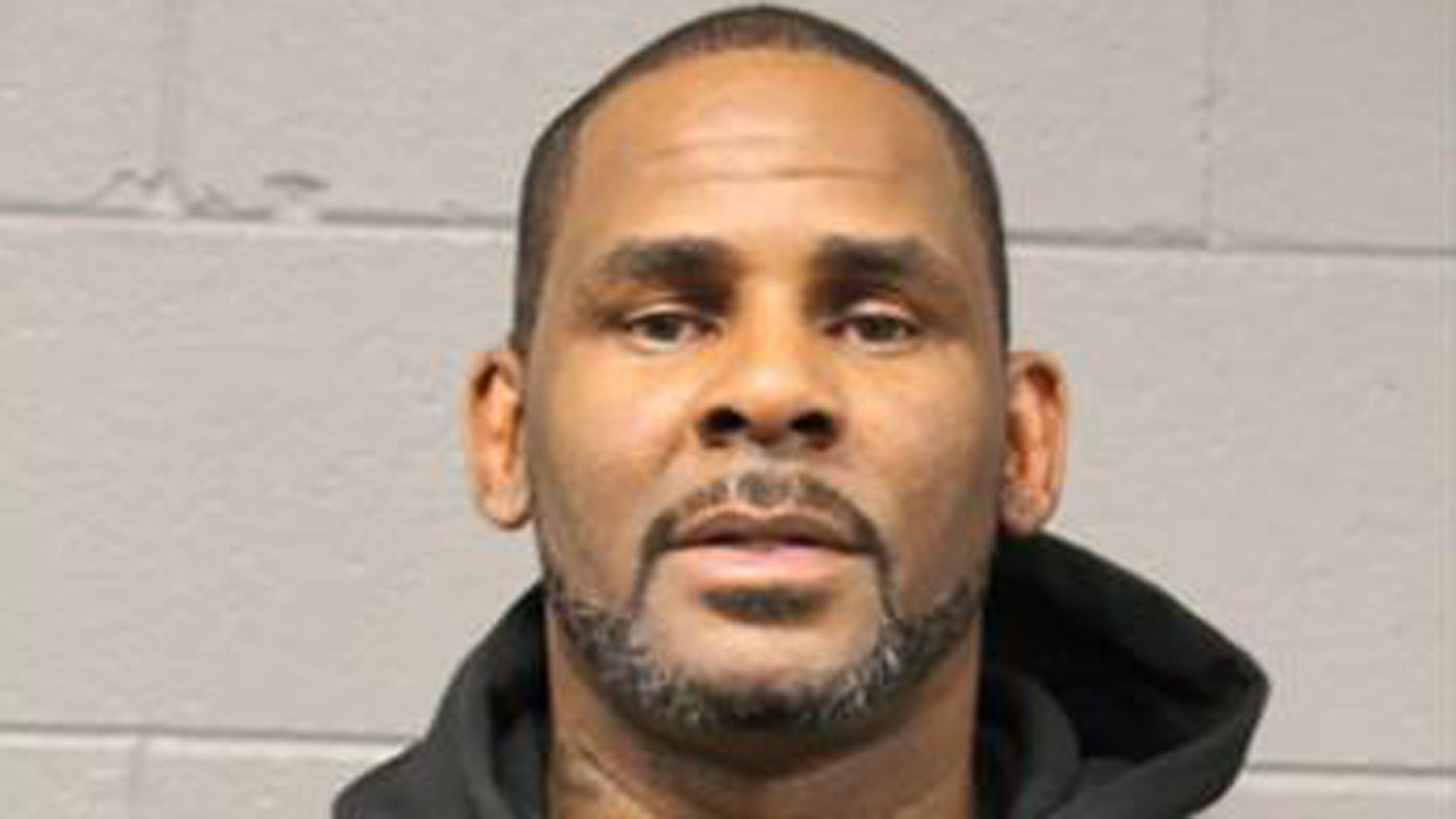 R. Kelly is seen in an undated booking photo. (Credit: Chicago Police Department via CNN)