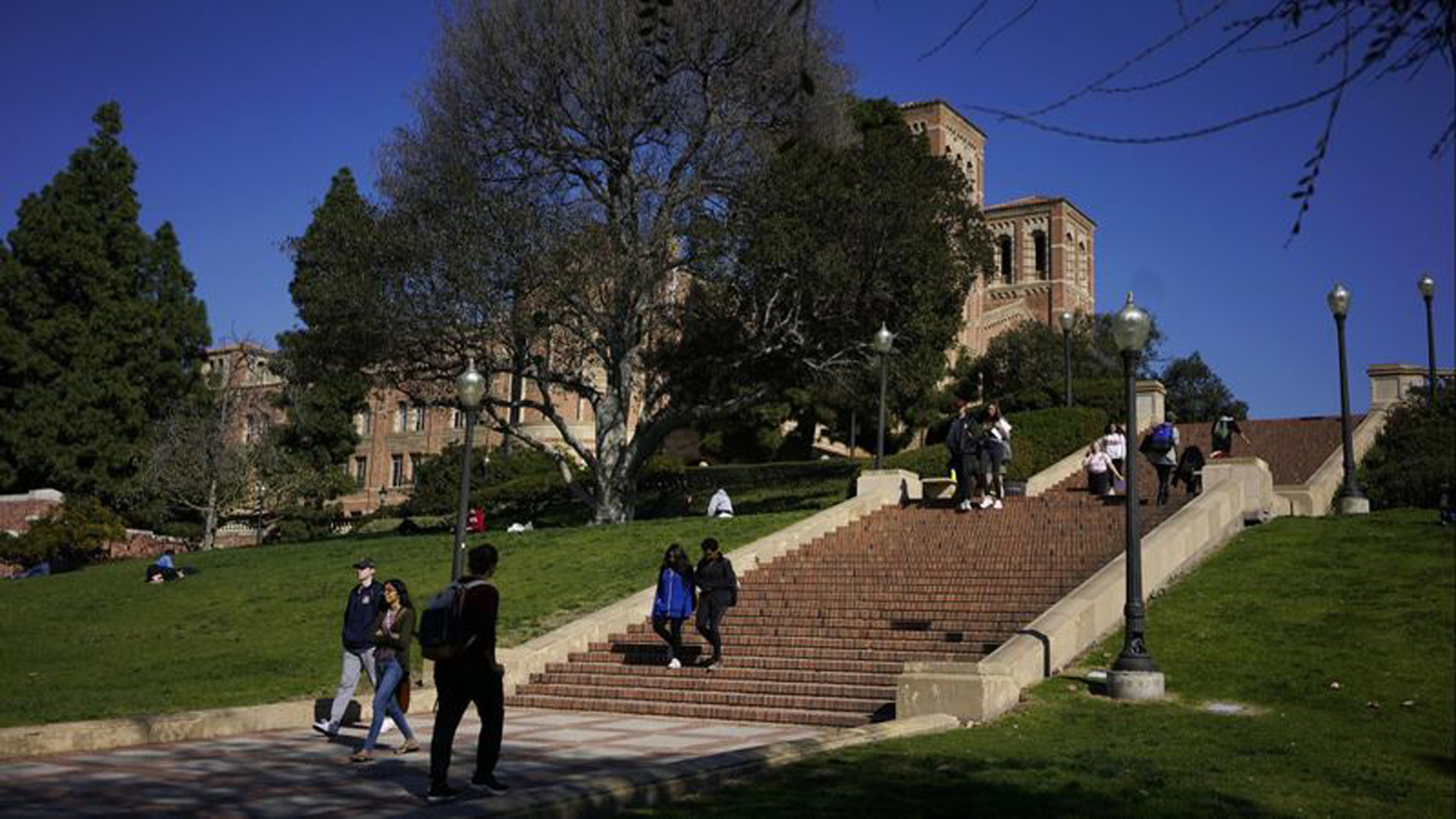 Health officials warned this week that people who spent time at UCLA, above, and Cal State Los Angeles might be at risk of catching measles. A UCLA student has been infected with the disease. (Credit: Kent Nishimura / Los Angeles Times)