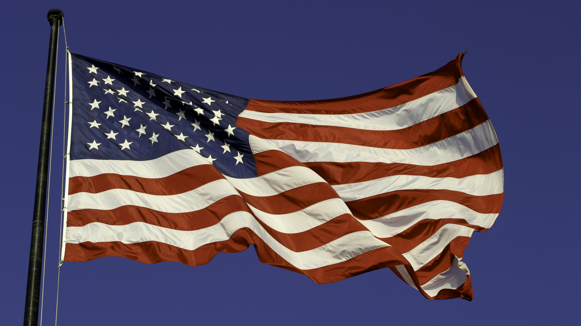 An American flag is seen in a file image. (Credit: iStock / Getty Images Plus)