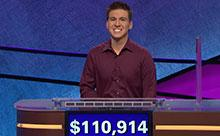 James Holzhauer, pictured in a n undated courtesy photo provided by Jeopardy.