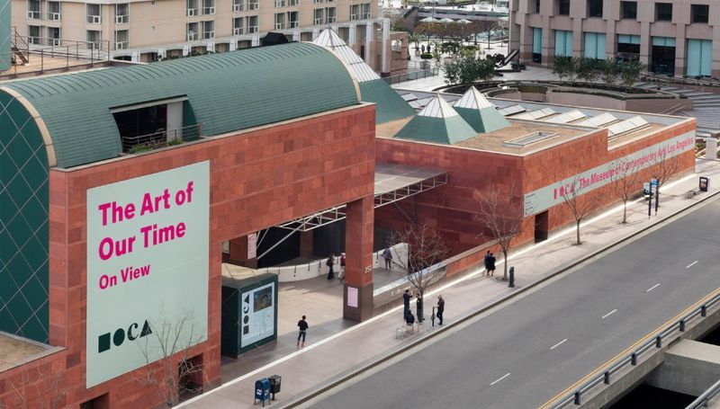 The Museum of Contemporary Art is seen in an undated photo. (Credit: Elon Schoenholz / Museum of Contemporary Art via Los Angeles Times)