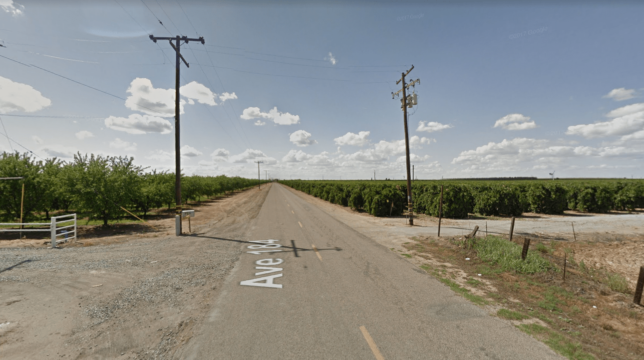 The 18900 block of Avenue 184 in Porterville is seen in a Google Maps Street View image on June 29, 2019.