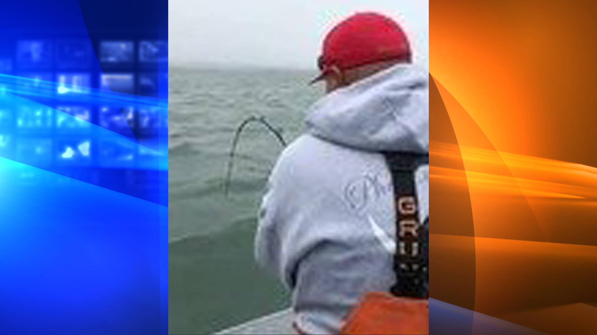 A man caught a great white shark in the San Francisco Bay. (Credit: KPIX)