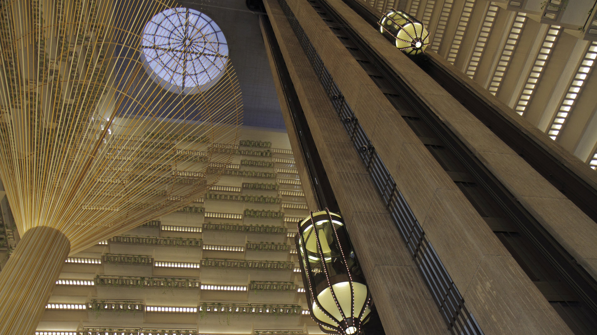 The Hyatt Regency in Atlanta is seen in a file photo. (Credit: Jeff Greenberg/Getty Images)