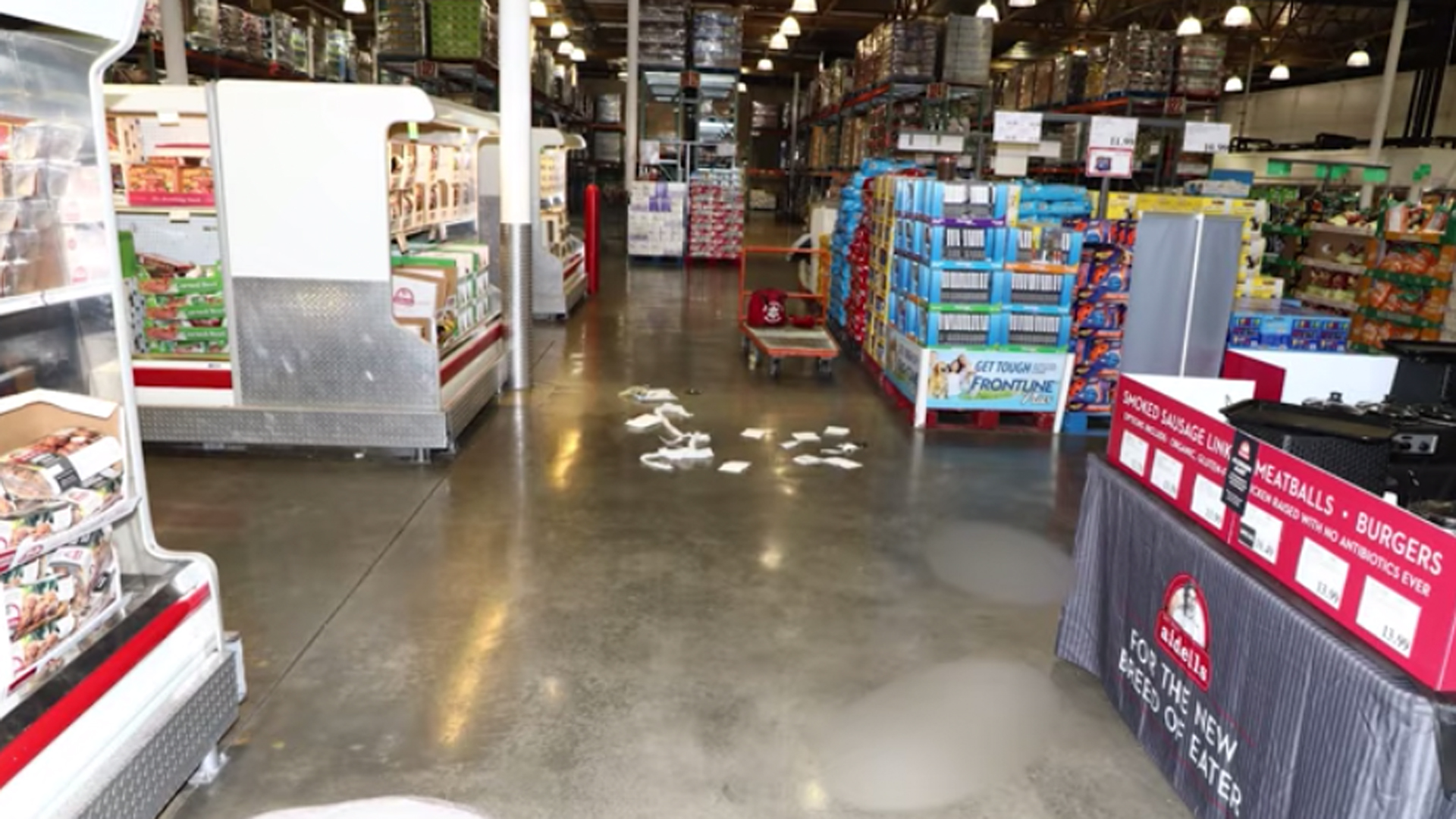 The Corona Costco where a shooting occurred on June 14, 2019, is seen in an image released by the Los Angeles Police Department.
