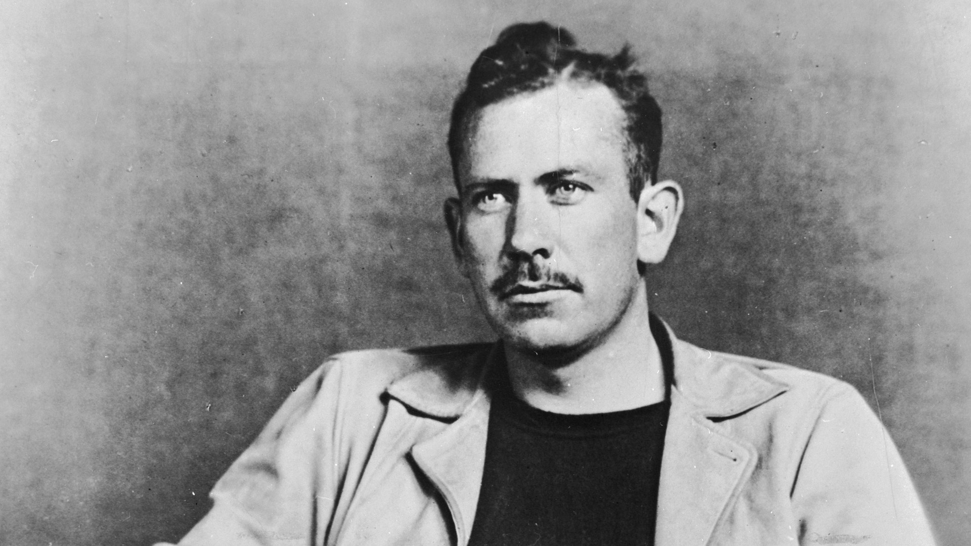 Novelist John Steinbeck (1902 - 1968) is seen in this photo from Getty Images. (Credit: Hulton Archive/Getty Images)