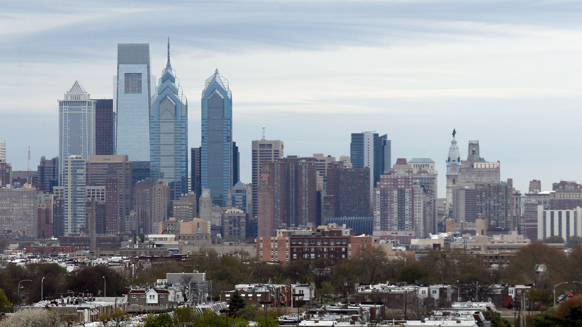 A general view of the Philadelphia city skyline on April 25, 2014.(Credit: Bruce Bennett/Getty Images)