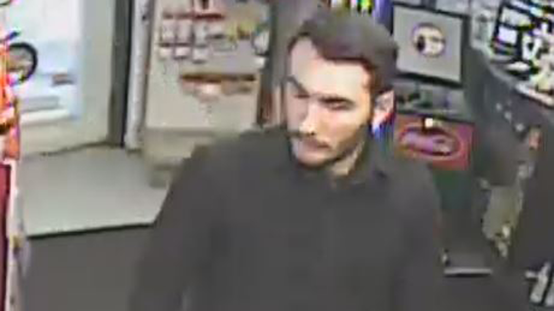 Michael Alexander Brown, 22, is seen in an undated surveillance photo released by the Franklin County Sheriff's Office.