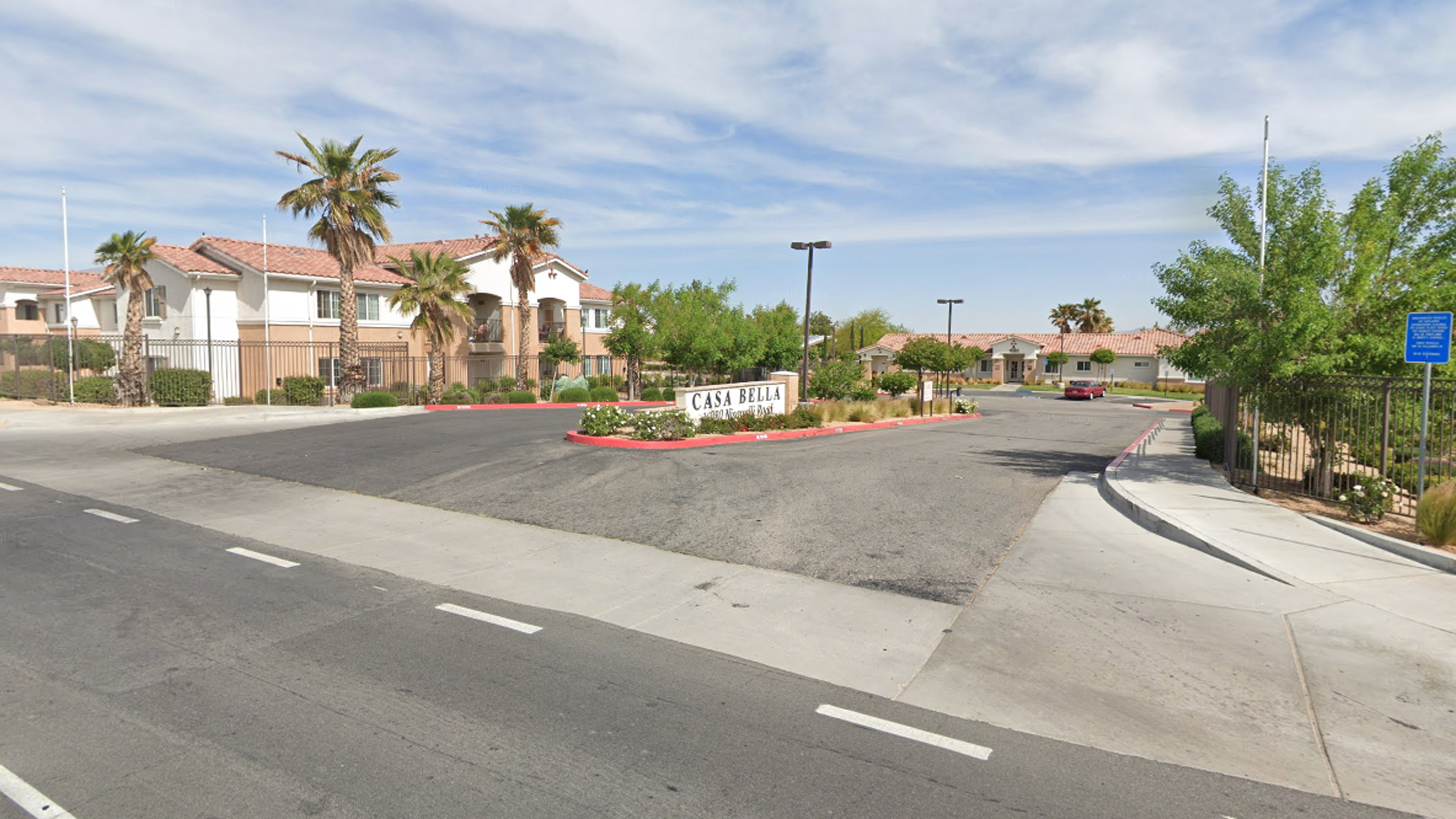 The Casa Bella apartments, 16980 Nisqualli Road in Victorville, as pictured in a Google Street View image.