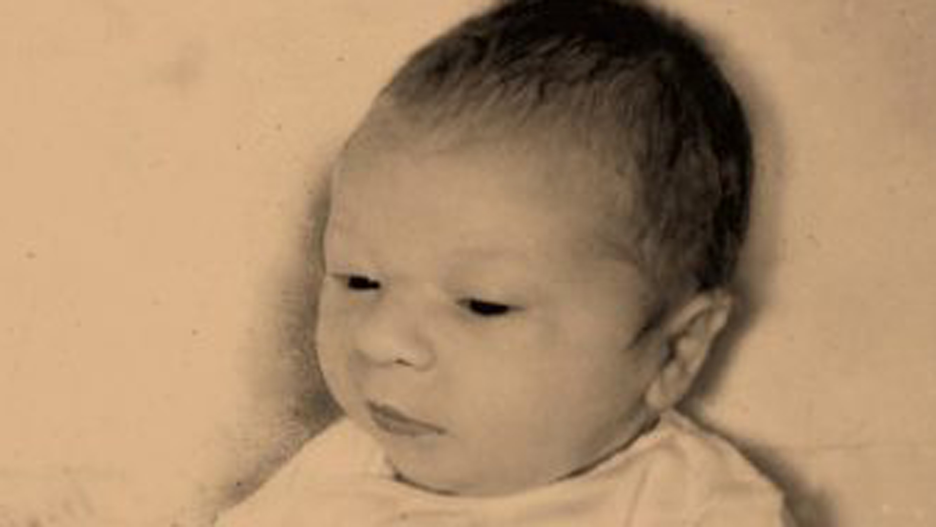 This April 26, 1964, file photo shows newborn Paul Joseph Fronczak shortly after his birth at Michael Reese Hospital in Chicago. (Credit: WGN)