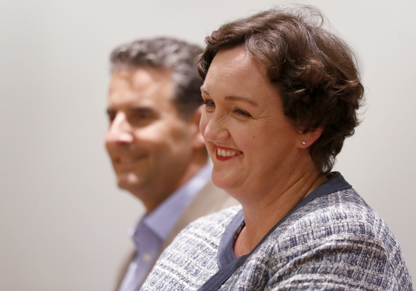 Rep. Katie Porter is seen in this undated photo. (Credit: Luis Sinco / Los Angeles Times)