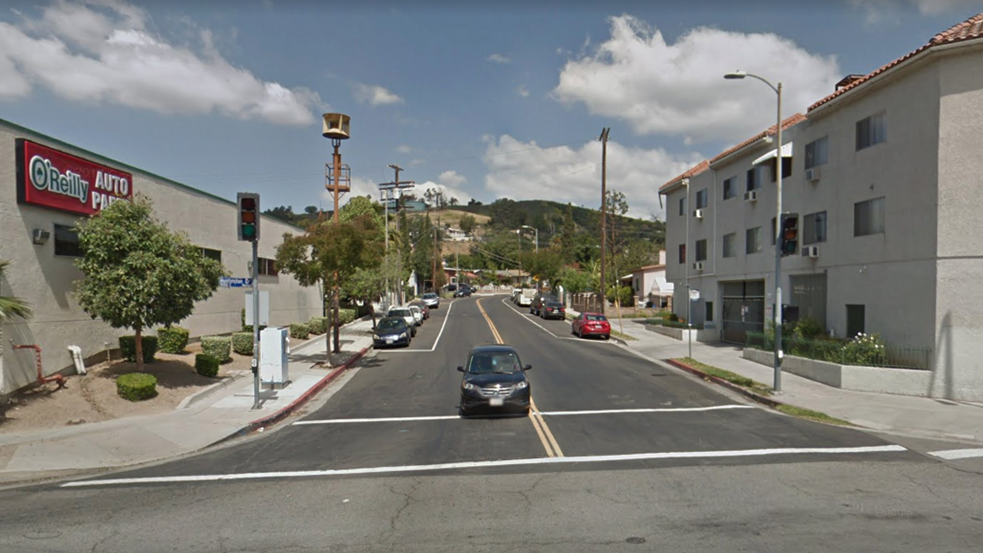 The 3900 block of Van Horne Avenue in the El Sereno neighborhood of Los Angeles, as viewed in a Google Street View image.