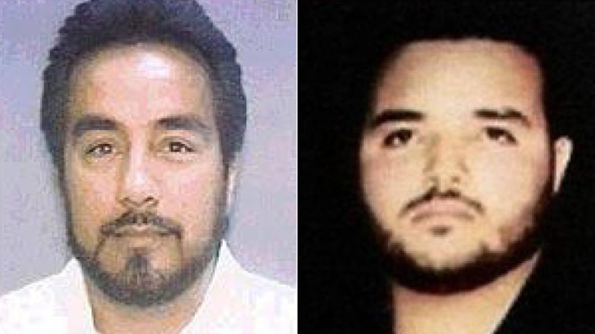 Gustavo Rivera, left, and Ismael Zambada Imperial appear in undated images released by the U.S. Drug Enforcement Administration via the Los Angeles Times.