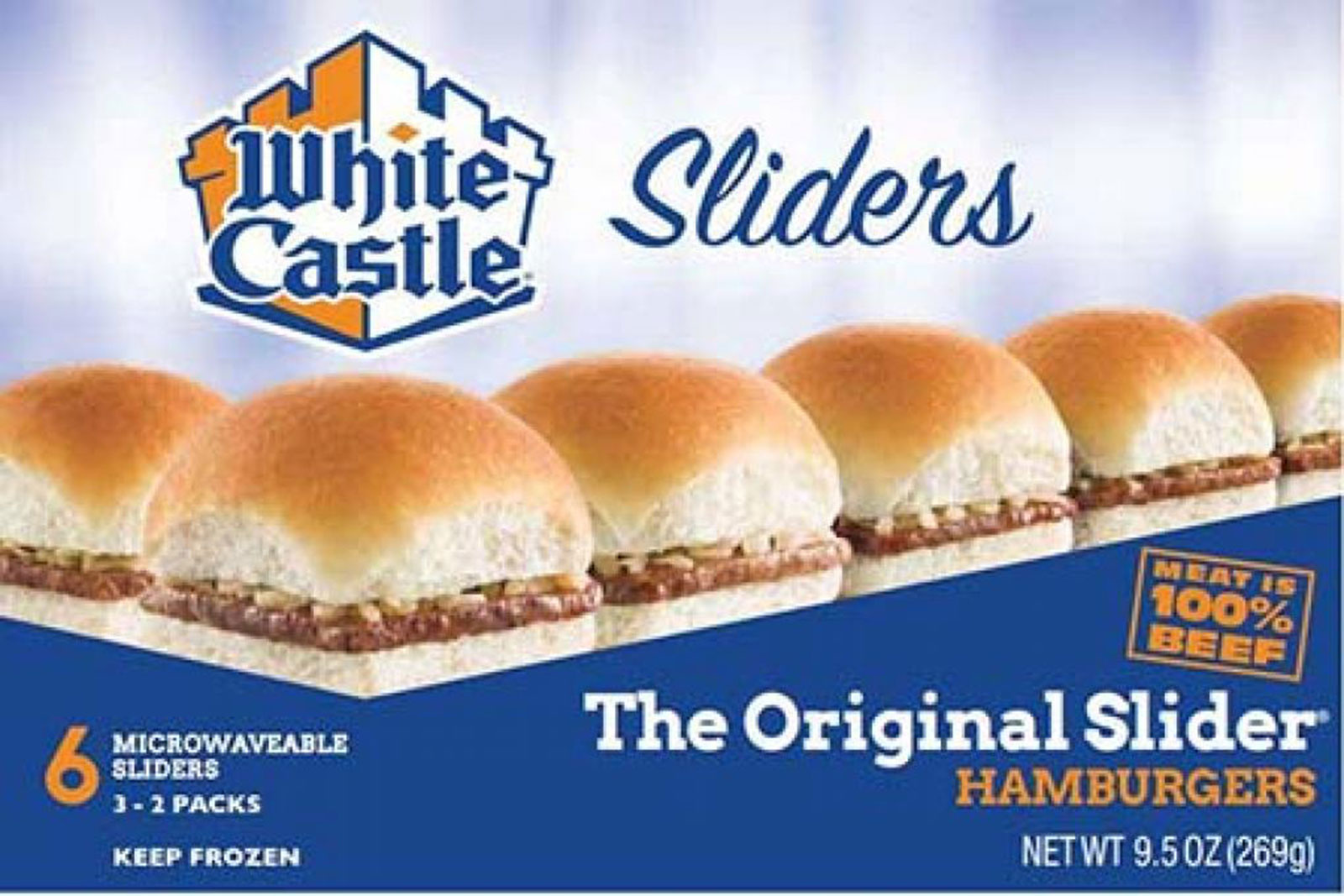 White Castle products at select stores are being recalled for possible Listeria monocytogenes. (Credit: FDA via CNN Wire)
