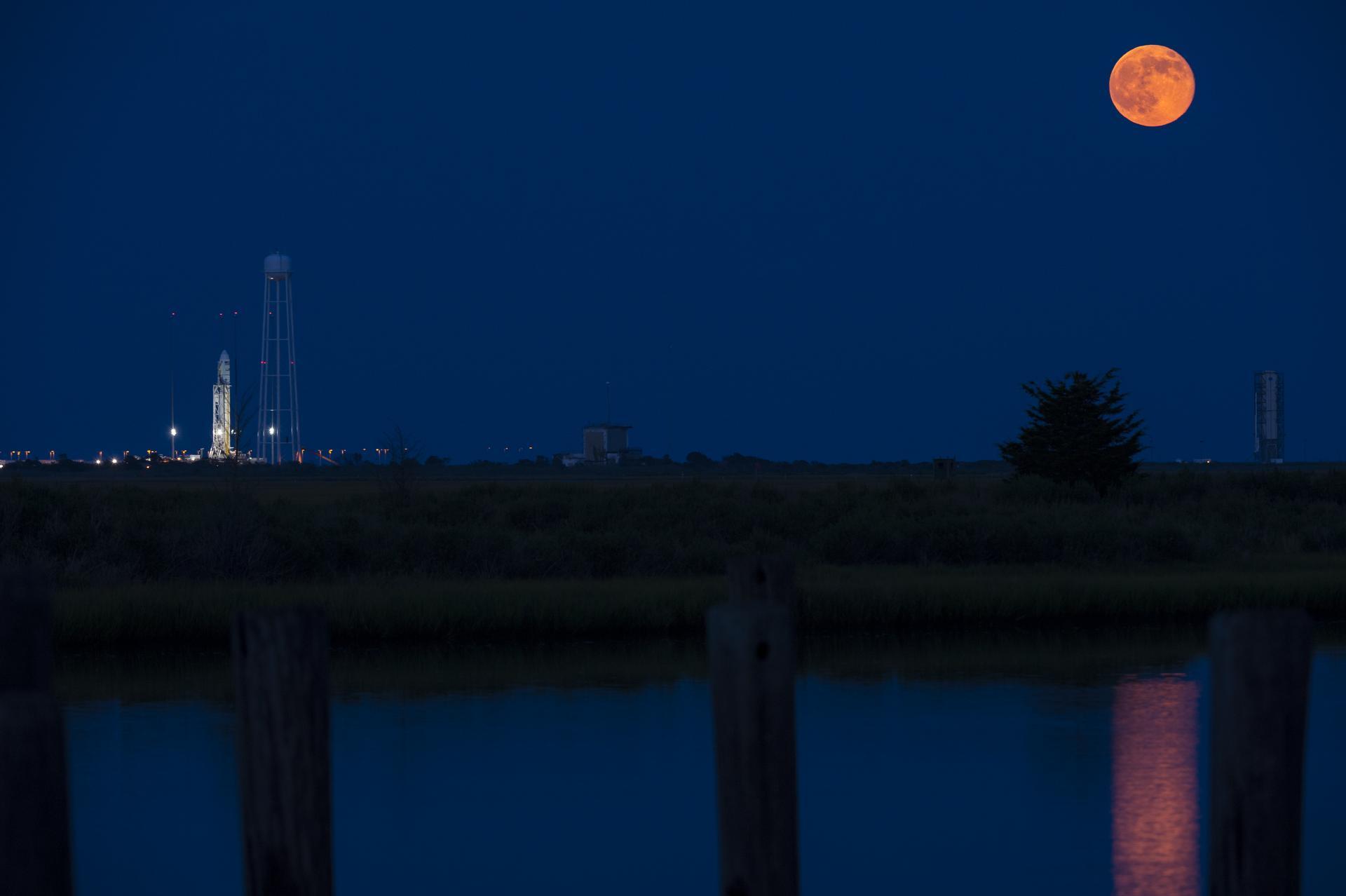 The Antares rocket on July 12, 2014. (Credit: NASA)